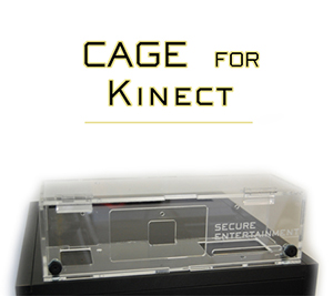 Kinect CAGE Security Case