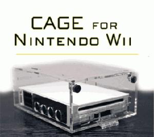 Nintendo Wii CAGE Security Case
