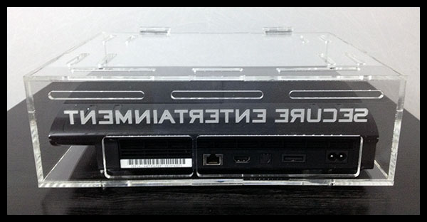 Playstation 3 Security Case Lock Box Ps3 Super Slim