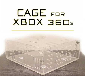 XBOX 360 CAGE Security Case Cover