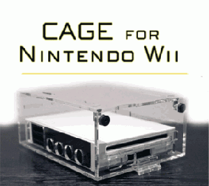 Nintendo Wii CAGE Security Case
