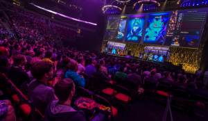 A video game tournament in Seattle in July. Pro gaming, called e-sports, is becoming a lucrative worldwide spectator sport. Credit Stuart Isett for The New York Times