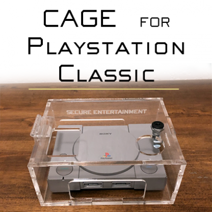 Playstation Classic Security Case